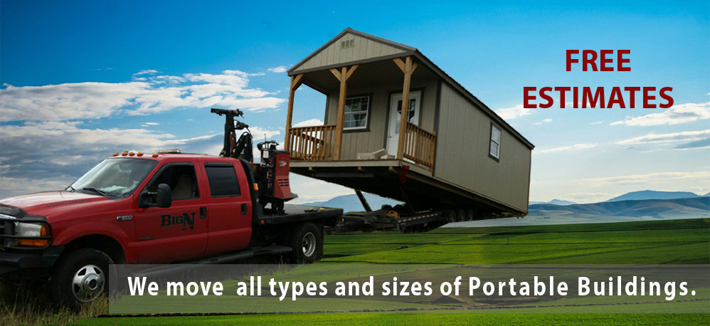 BigN Portable Building Movers   Moving Texas Portable Buildings Uvalde TX  78801